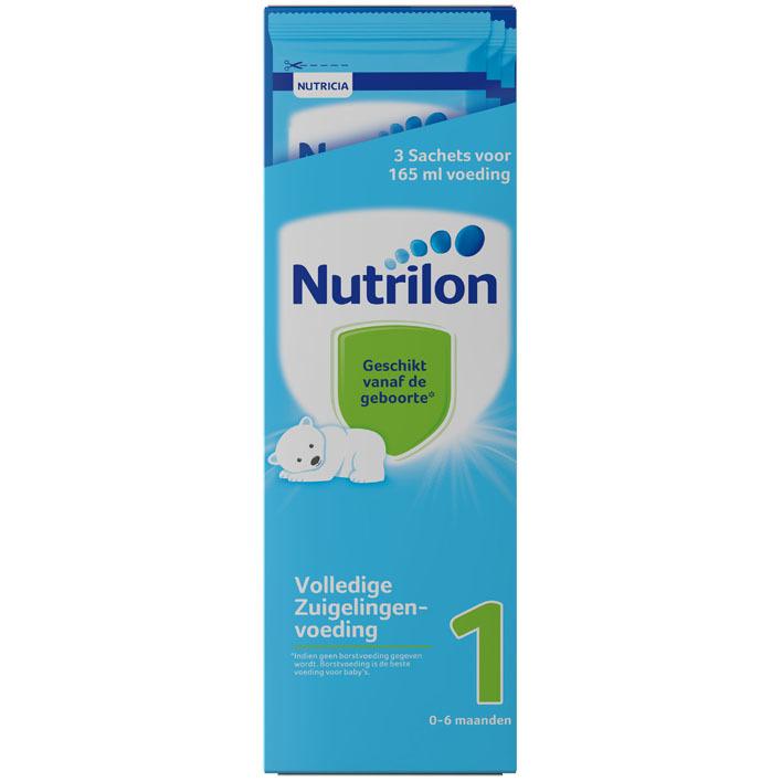 Nutrilon Volledige zuigelingenvoeding 1 sachets