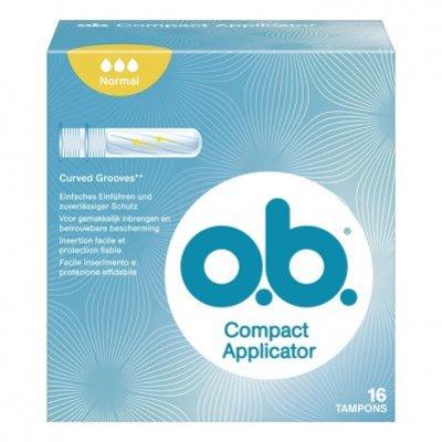 o.b. Compact applicator normaal