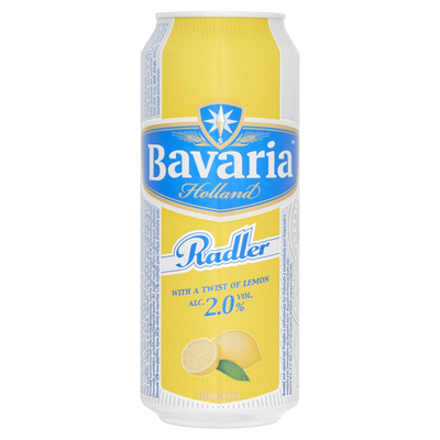 Bavaria Holland Radler Twist of Lemon Blik 0.5 L