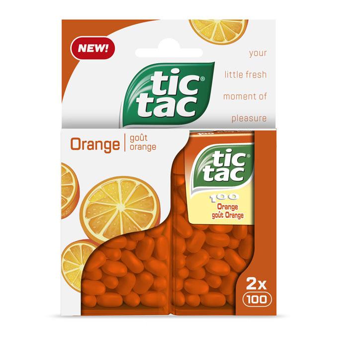 Tic Tac Duo pack orange