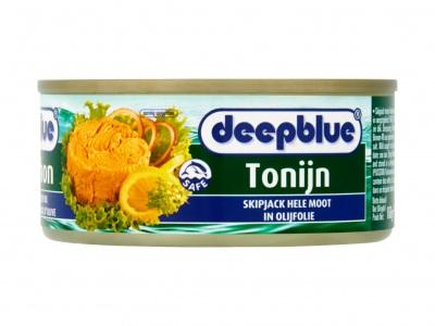 Deepblue Tonijnmoot in olijfolie