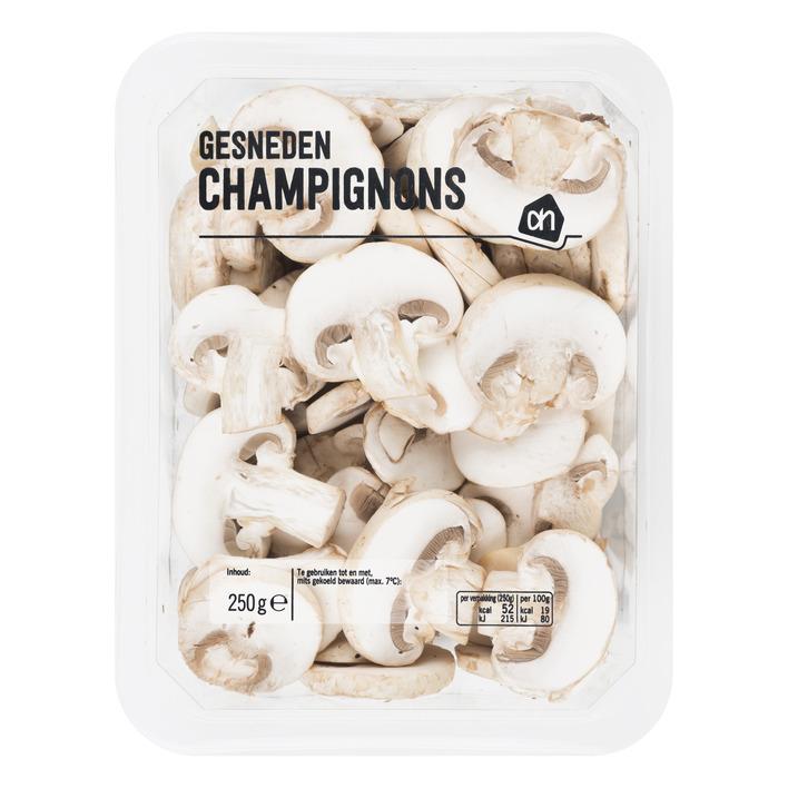 Huismerk Gesneden champignons