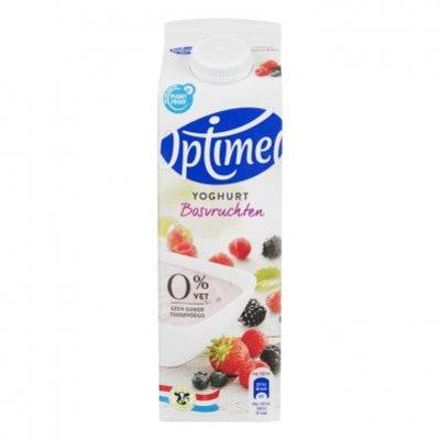 Optimel Magere yoghurt bosvruchten 0% vet