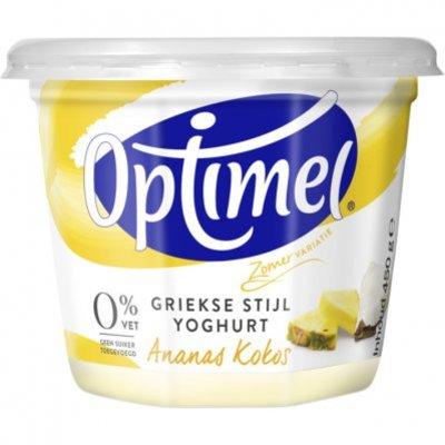 Optimel Magere Griekse yoghurt Ananas & Kokos
