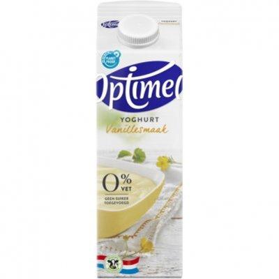 Optimel Magere yoghurt vanille 0% vet