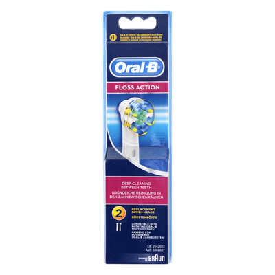 Oral-B Opzetborstels floss action