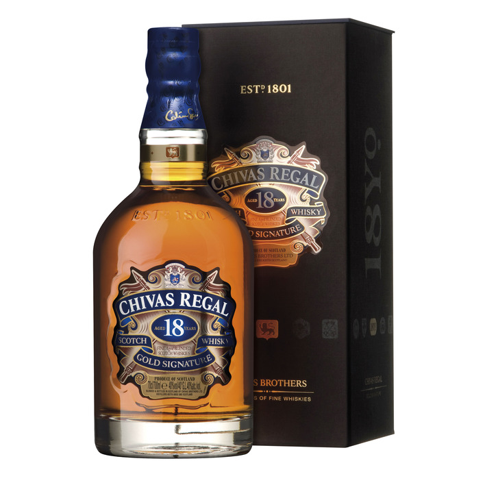 Chivas Regal Gold signature Scotch whisky 18 years