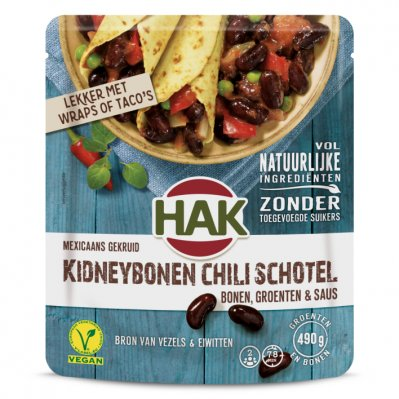 Hak Kidneybonen chili
