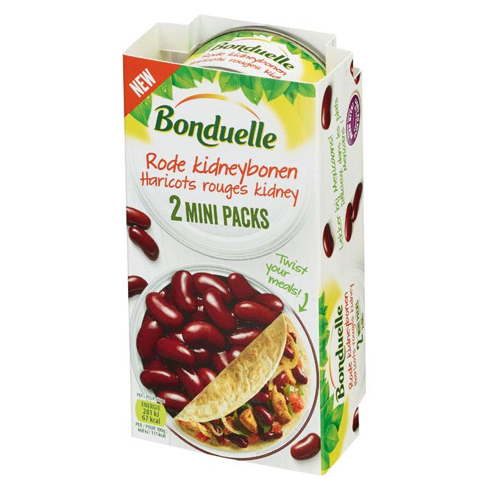 Bonduelle Rode kidney bonen mini packs