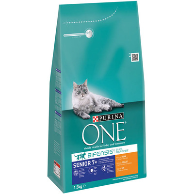One Purina bifensis senior 7+ kip