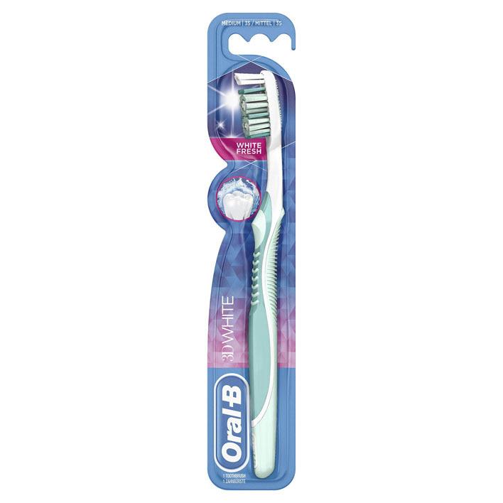 Oral-B 3D White fresh tandenborstel medium