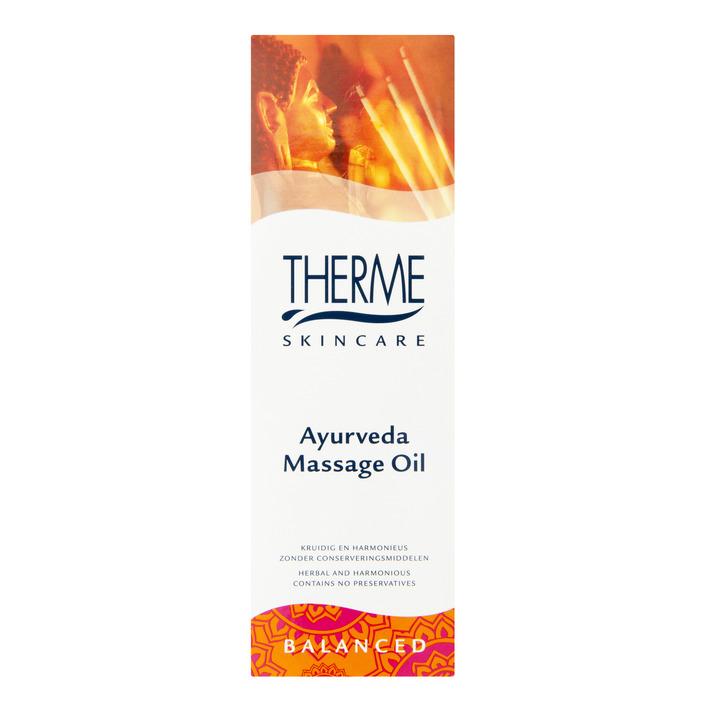 Therme Ayurveda massage oil