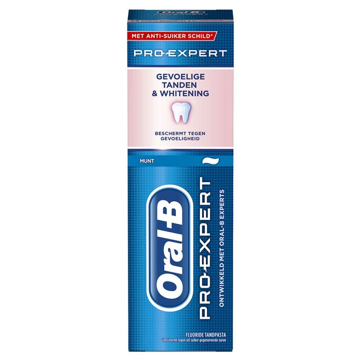 Oral-B Pro expert tandpasta sensitive&whitening