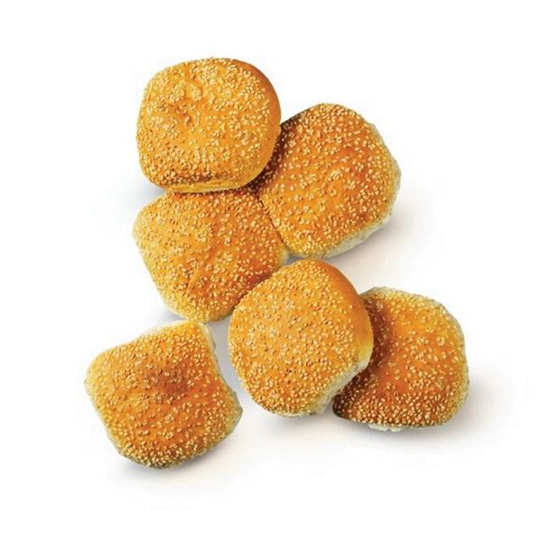 Ambachtelijke Bakker Zachte Bollen Wit Sesam
