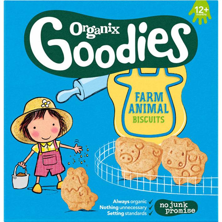 Organix Boerderijdieren koekjes 1+jr