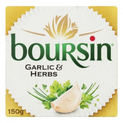 Boursin Knoflook & kruiden