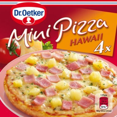 Dr. Oetker Mini pizza hawaii