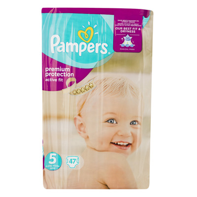 Pampers Active fit luiers maat5 (junior) 11-23kg