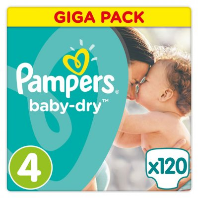 Pampers Baby-dry maat 4