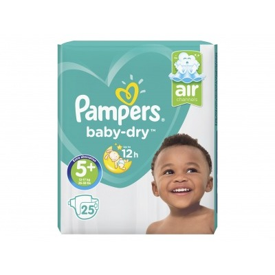 Pampers Baby dry maat 5+