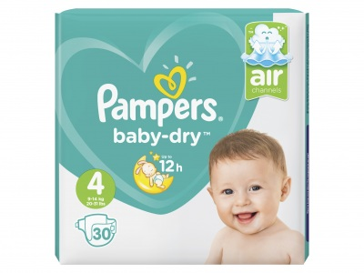 Pampers Baby dry maat