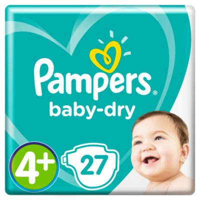 Pampers Luiers Baby Dry maat 4+