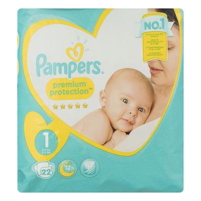 Pampers Premium protection maat 1