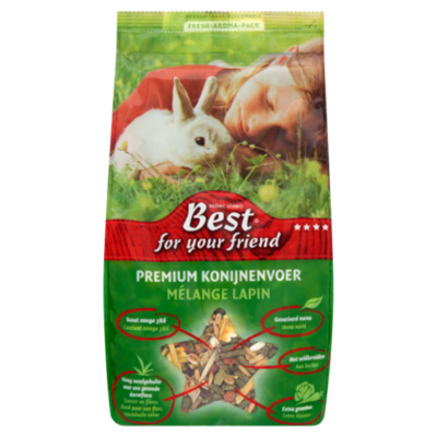 Best For Your Friend Konijnenvoer Premium