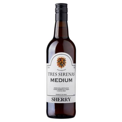 Tres Sirenas Medium Sherry