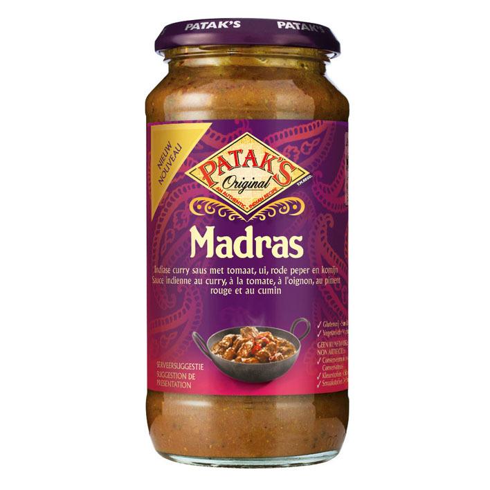 Patak's Madras saus