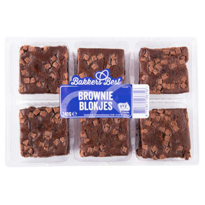Bakkers Best Brownie blokjes