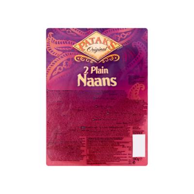Patak's Original Plain Naans