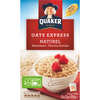 Quaker Havermout naturel portieverpakking