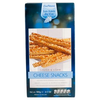 Les Amis Cheese snack gouda&edam