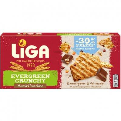 Liga Evergreen crunchy muesli choco
