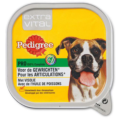 Pedigree Hondenvoer nat extra vital gewrichten