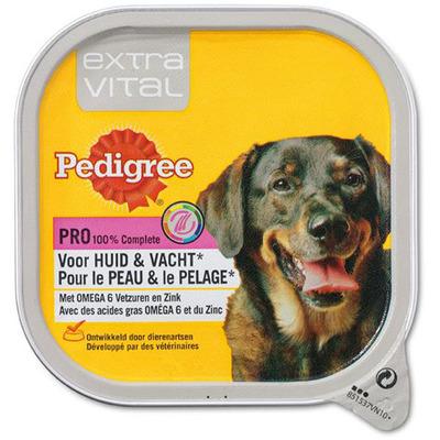 Pedigree Hondenvoer nat extra vital huid & vacht