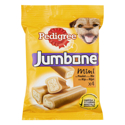 Pedigree Jumbone mini kip