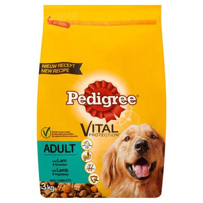 Pedigree Hondenvoer droog lam & groenten adult
