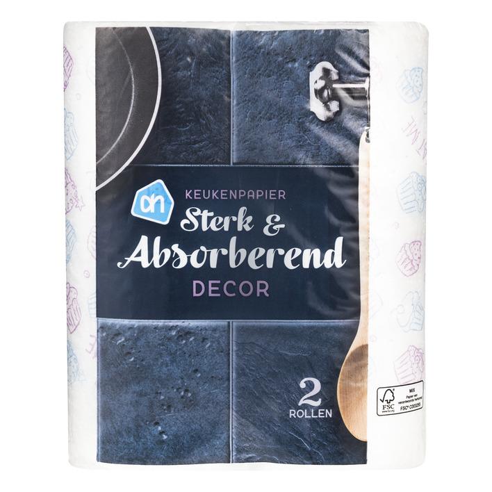 Huismerk Super absorberend keukenpapier decor