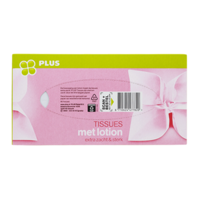 Huismerk Tissues lotion 3 laags