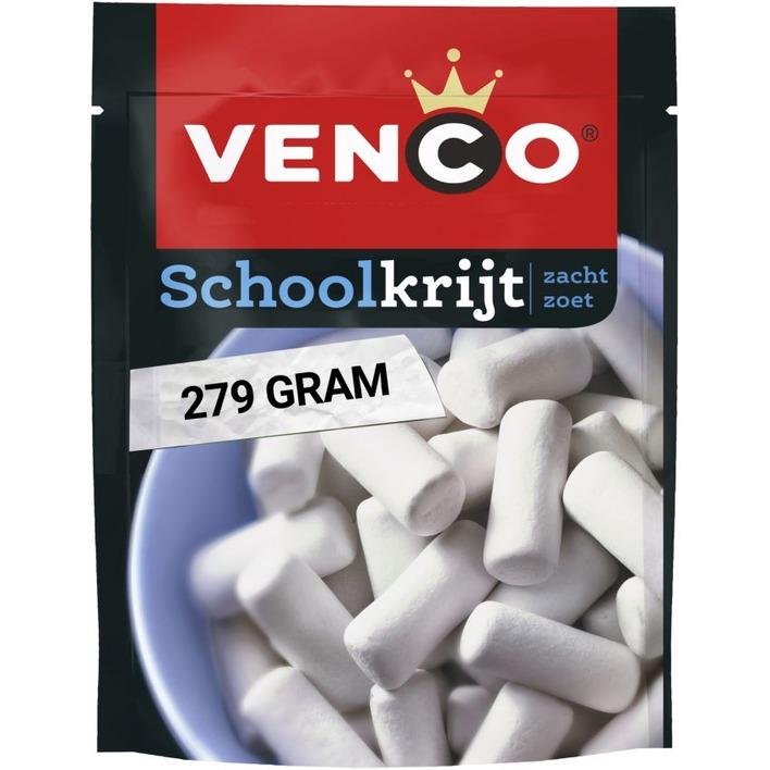 Venco Schoolkrijt zacht zoet
