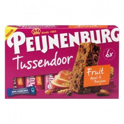 Peijnenburg Ontbijtkoek tussendoor fruit per stuk