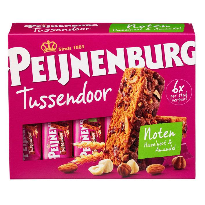 Peijnenburg Tussendoor noten hazelnoot & amandel