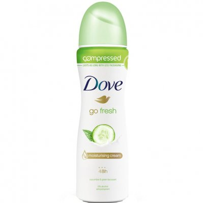 Dove Deodorant spray go fresh cucumber