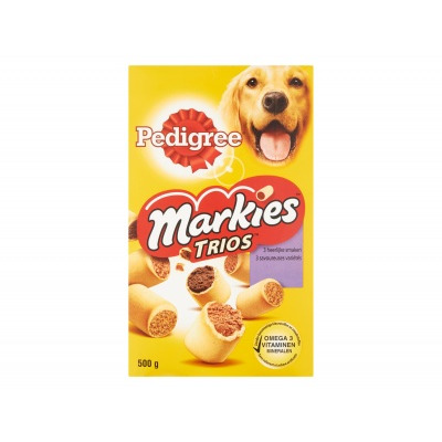 Pedigree Markies trios