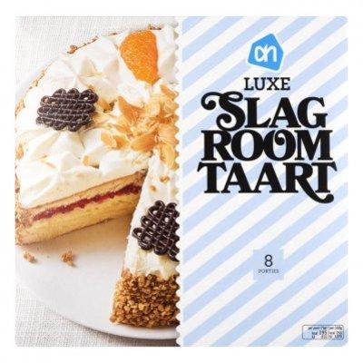 Huismerk Luxe slagroomtaart