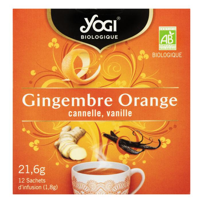 Yogi Ginger orange bio