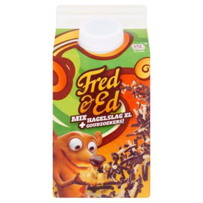 Fred & Ed Chocoladehagelslag mix goudzoekers