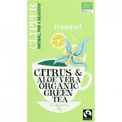 Clipper Green tea citrus & aloe vera 1-kops